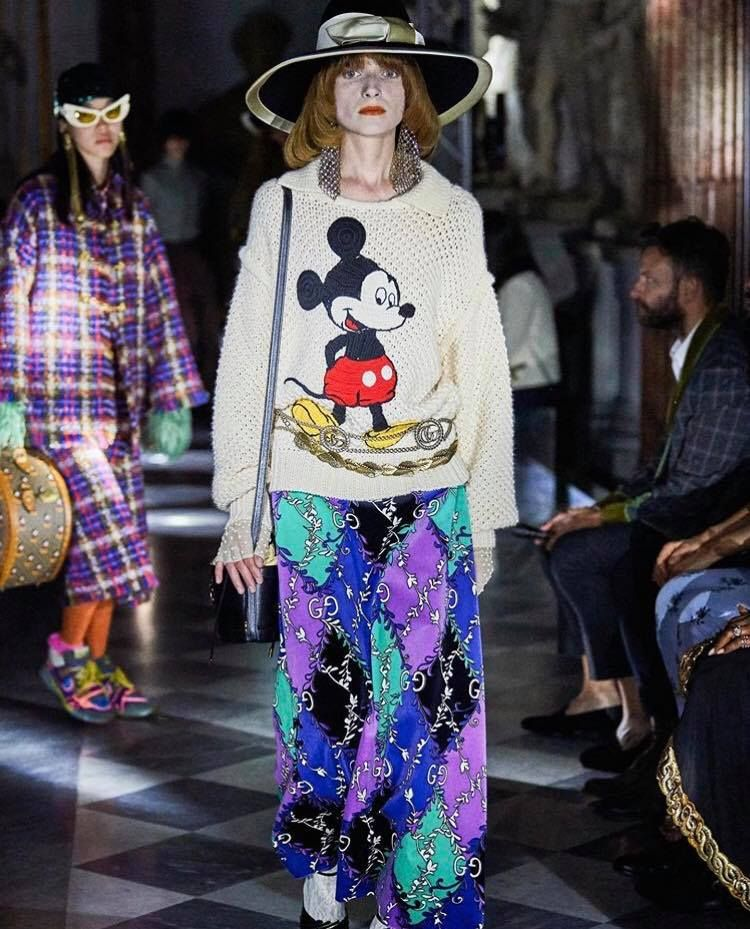 Gucci Mickey Mouse Styles From The 2020 Cruise Collection