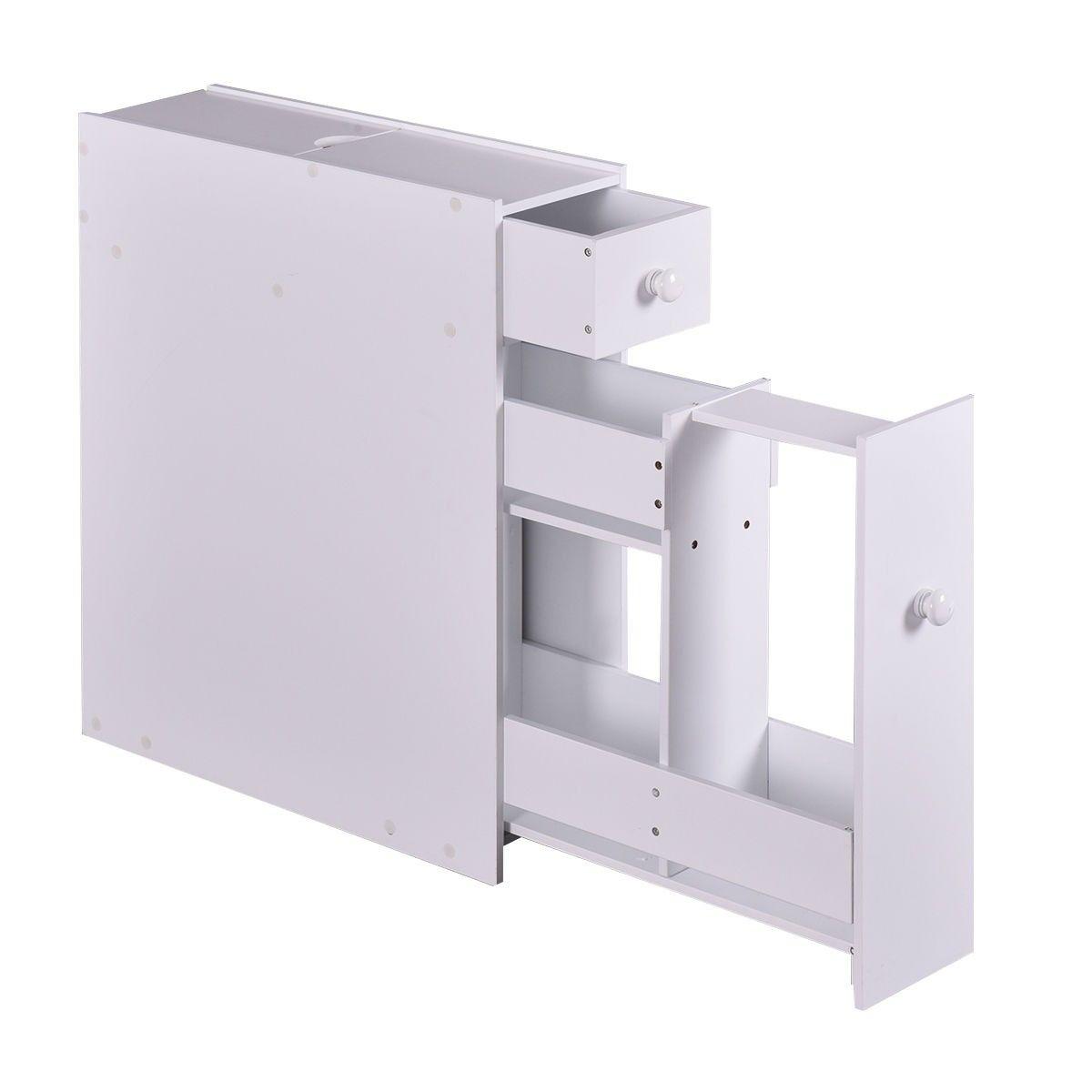 Bathroom Cabinet Space Saver Storage Organizer Bathroom Floor Cabinets Wood Floor Bathroom Wood Storage Cabinets