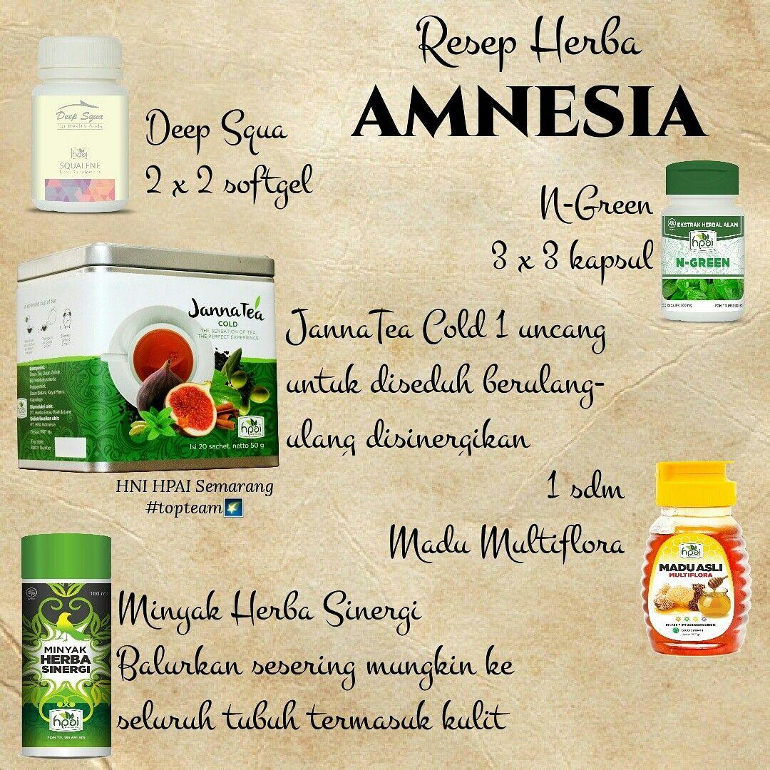 Pin Oleh Margarita Lewis Di Resep Herbal Hpai Herba Resep Amnesia