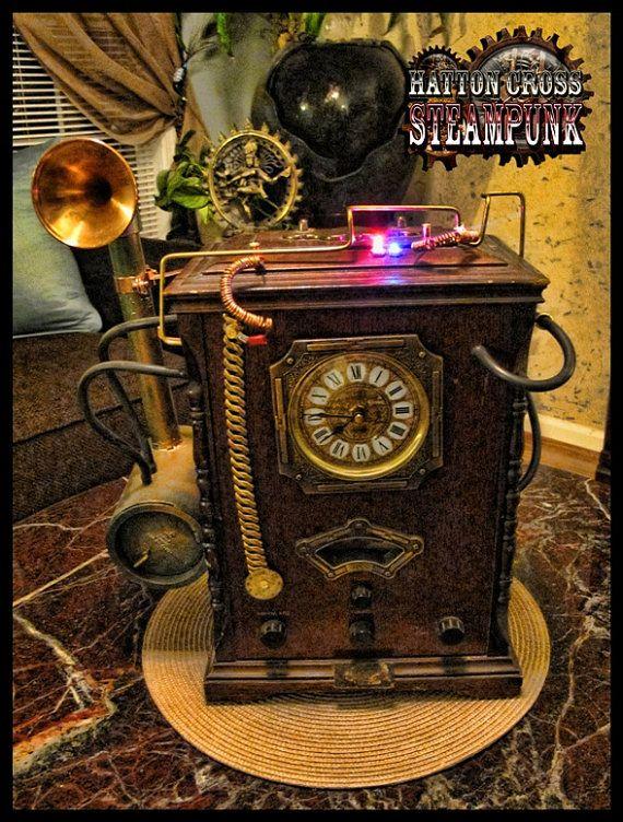 steampunk decor the noble hare hatton cross steampunk steampunk home decor sp zikos post. Black Bedroom Furniture Sets. Home Design Ideas