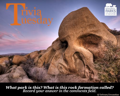 What #nationalpark is this? What is this rock formation called? Record your answer in the comments field.