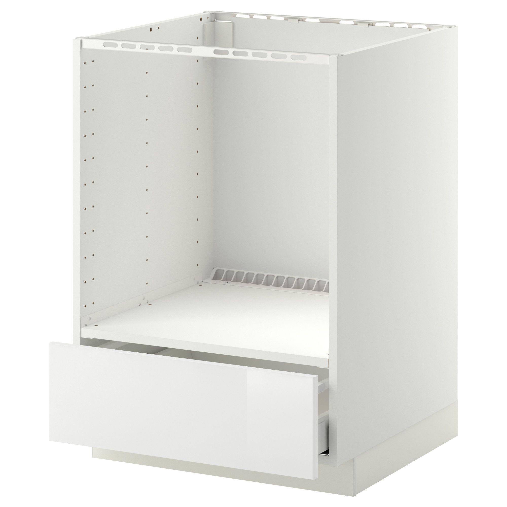 Metod Maximera Element Bas Pour Four Avec Tiroir Blanc Haggeby Blanc Ikea Ikea Mobilier De Salon Tiroir