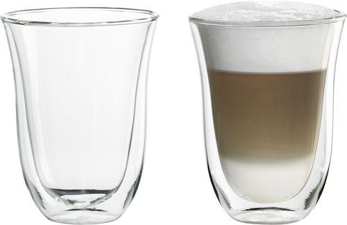 DeLonghi - 7.5-Oz. Latte Macchiato Cups (2-Pack) - Glass/Transparent #lattemacchiato