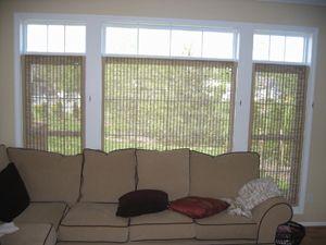 Blinds Below Transom Windows