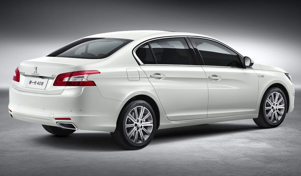 Review Peugeot 408 2015 Specs Rear View Model