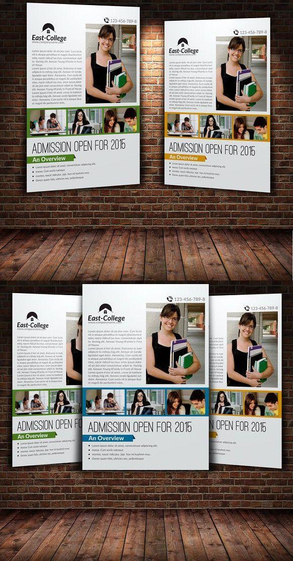 Education Flyer Template Education Flyers Pinterest Flyer
