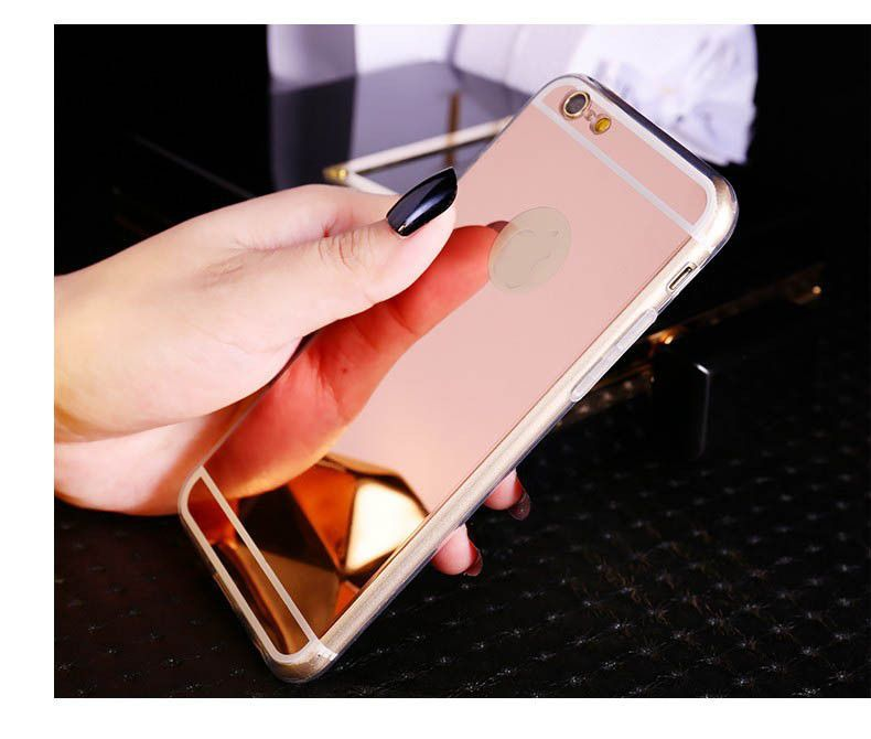 New Rose Gold Luxury Mirror Case For Iphones Iphone Iphone Cases Phone Case Accessories
