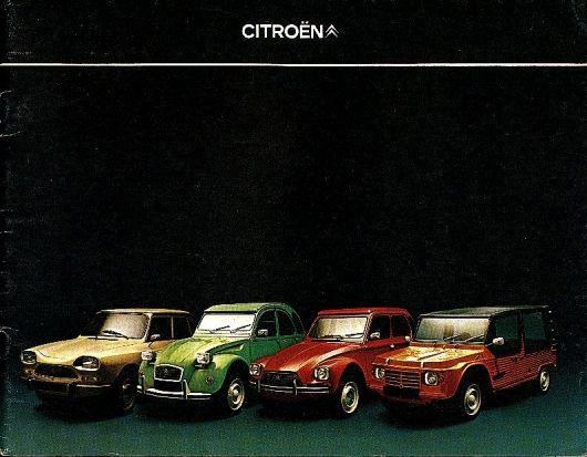Citroen Ami - 2CV - Dyane and Mehari