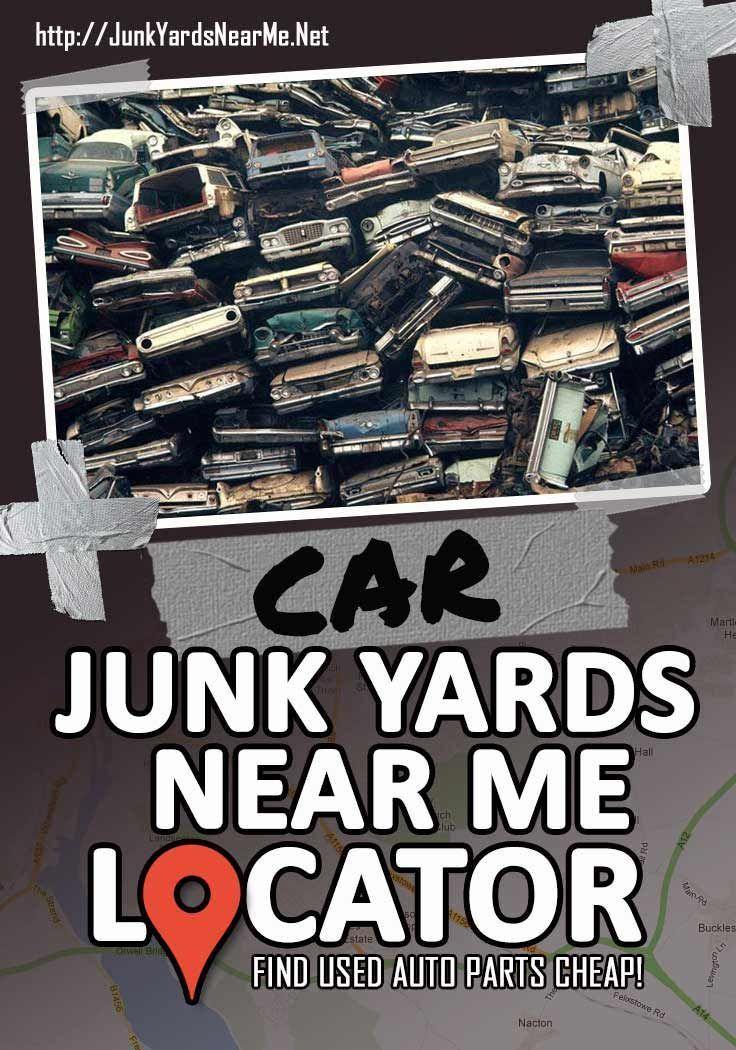 Car Junkyards Near Me [Locator Map + Guide + FAQ] Junkyard
