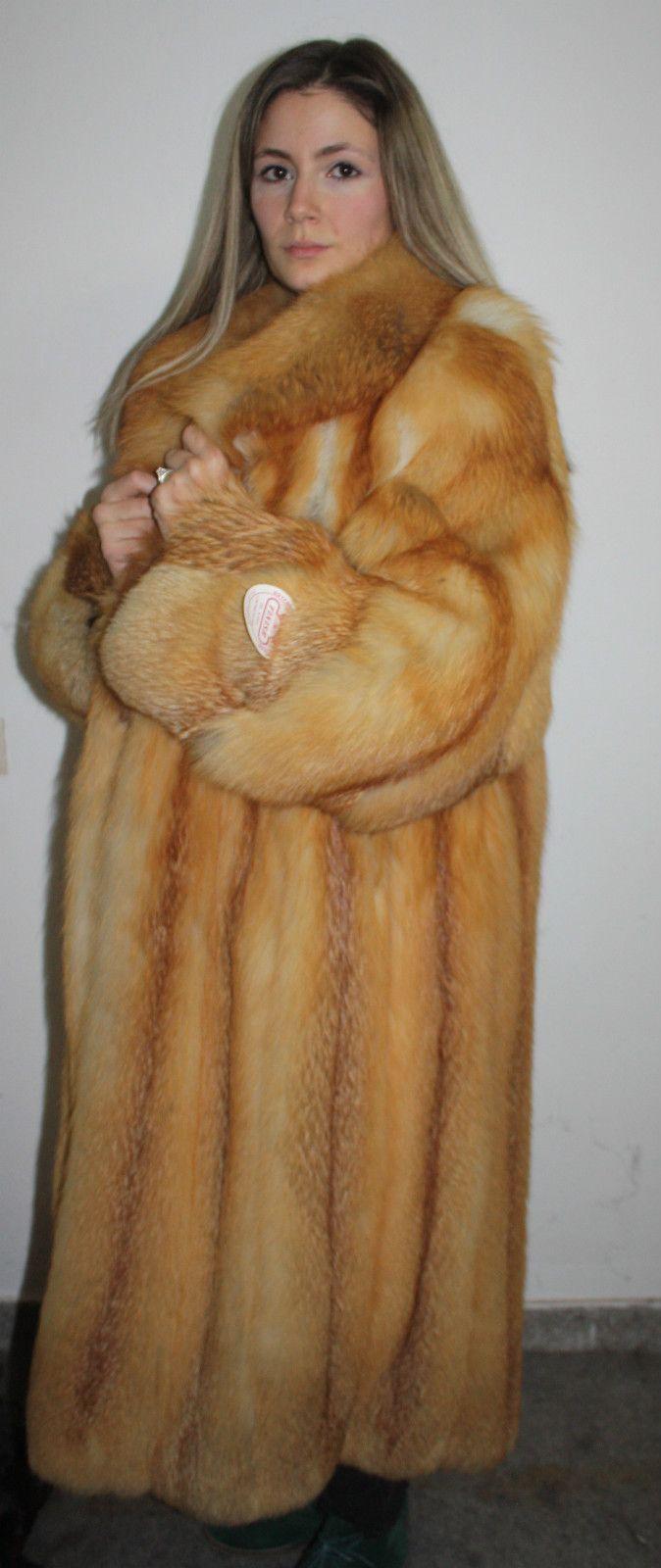 red fox fur coat - Google Search   Regal Red Fox Furs ...