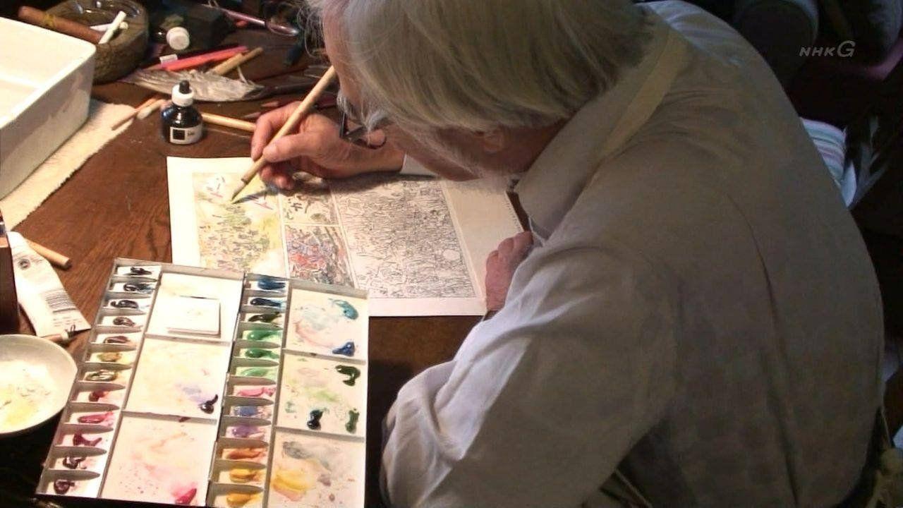 """Avesso às novas tecnologias, Miyazaki continuou produzindo todo seu trabalho à mão. """"Quando vejo pessoas trabalhando em computadores para criar animação é como assistir a algo mágico acontecer. Mas eu sempre viro as costas e volto para o lápis e o papel""""."""