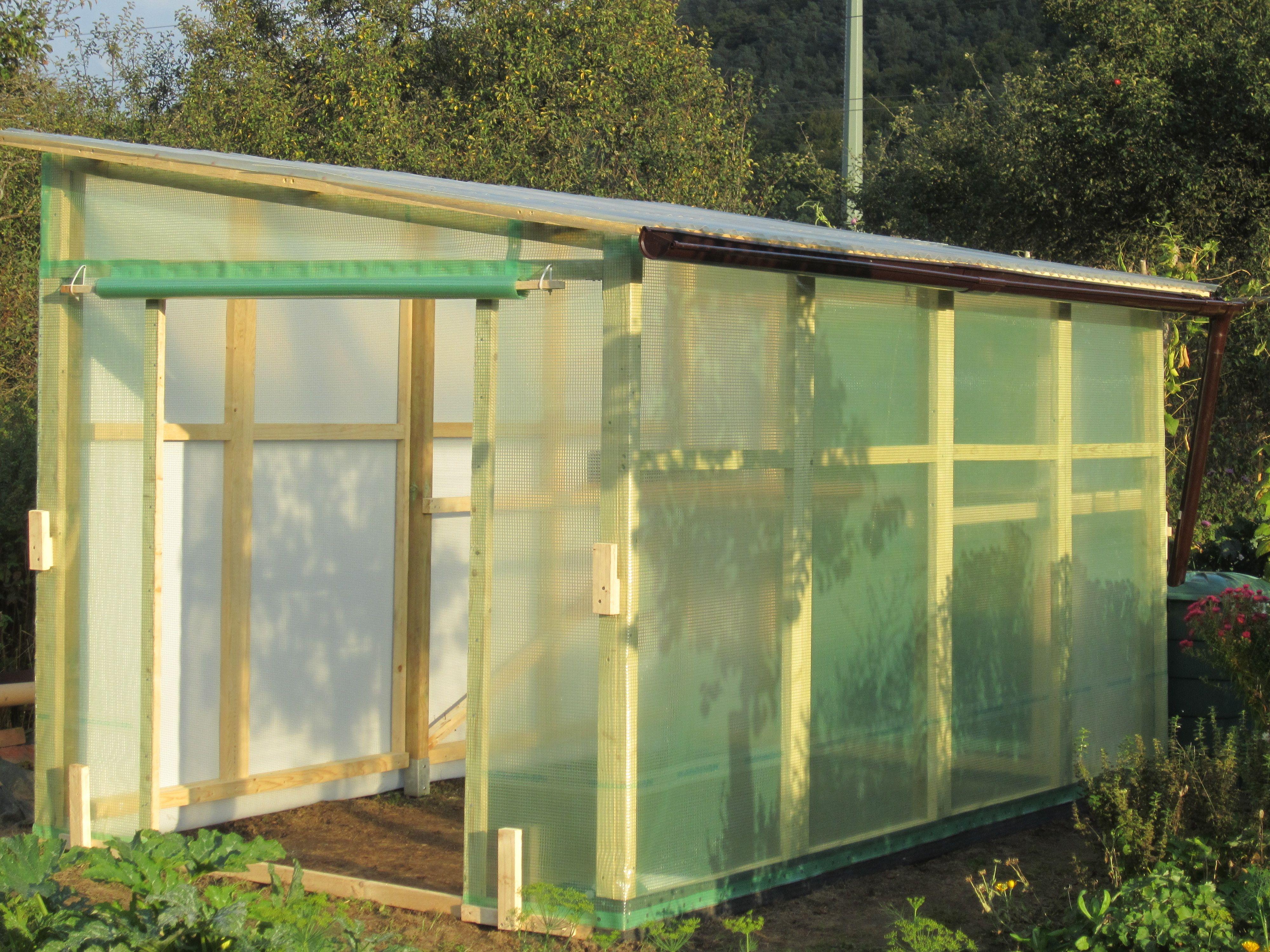 ein tomatenhaus selber bauen | gemeinsam im garten | pinterest