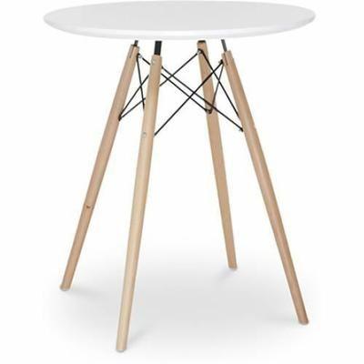 la table ronde dsw saccorde parfaitement avec les tabourets de bar c - Table Ronde Bar