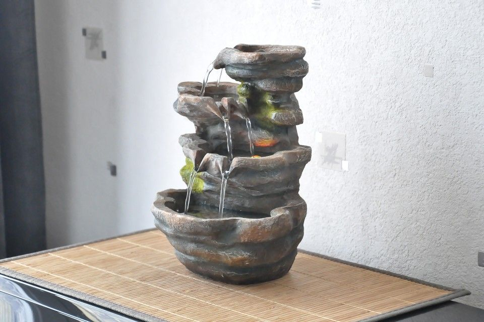 Fontaine d 39 int rieur nature zen triple cascades shingo toko d co nature pinterest deco - Fontaine d appartement zen ...