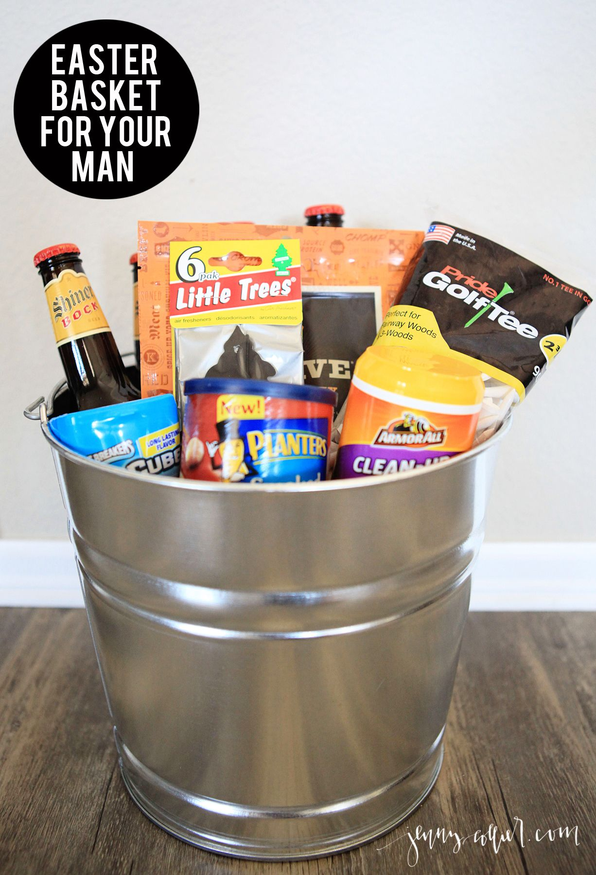 Easter basket ideas for men basket ideas easter baskets and easter a great list of over 40 easter basket ideas for men make your loved one negle Choice Image