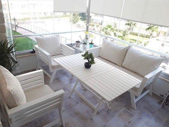 """Photo of babilconcept bahçe mobilyaları Instagram'da paylaşımda bulundu: """"❤️beyaz…"""