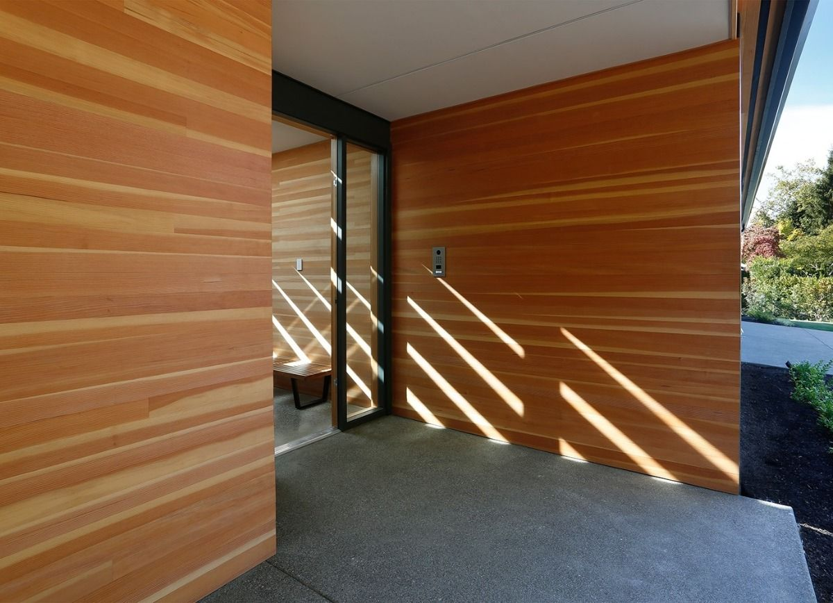 Clear Vertical Grain In Aquafir Shiplap Ceiling Wood Siding Cedar Siding