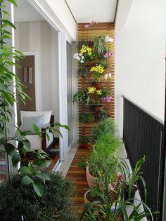 Idea for a small balcony