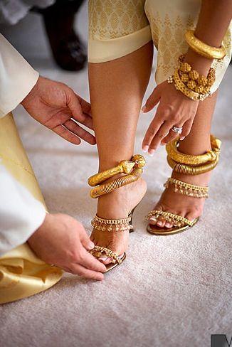 Beautiful Traditional Khmer Wedding Jewelry Cambodian Wedding