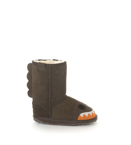 EMU branded baby boy ugg boots - sharks last season...this season?