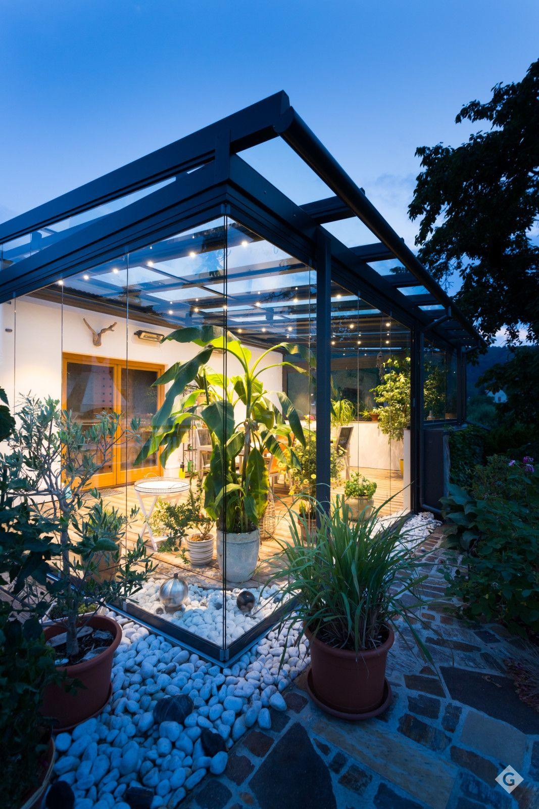 Solarlux Sl 25 Xxl Windgeschutzt Durch Ganzglas Schiebe