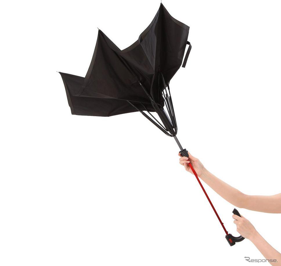逆にひらき、逆にとじる傘 GAX G-1
