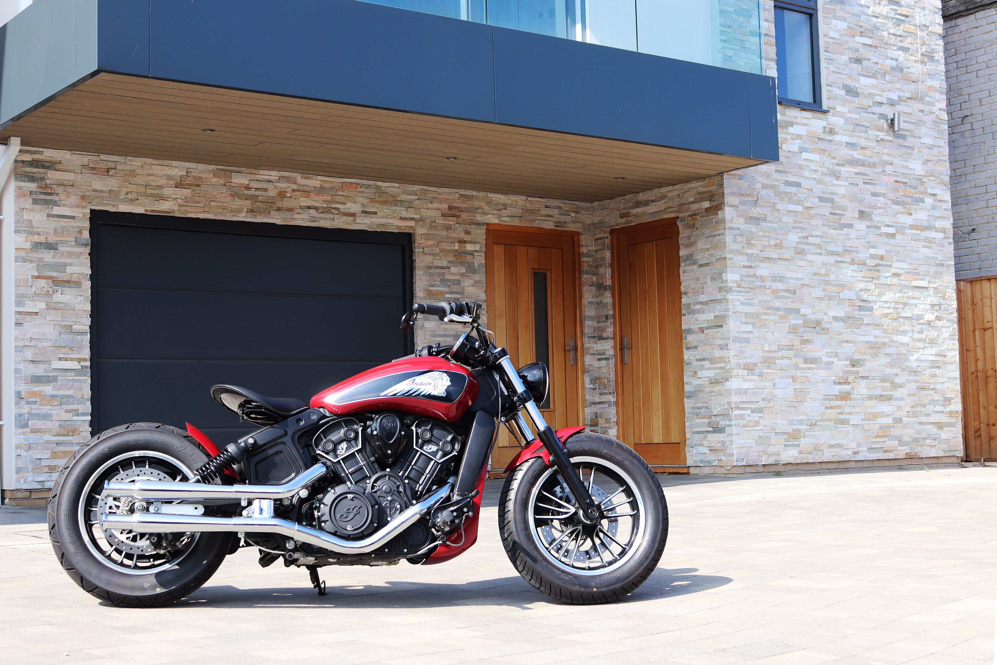 Custom Indian Motorcycle For Sale >> Custom Indian Scout Motorcycle By Moore Speed Racing Poole