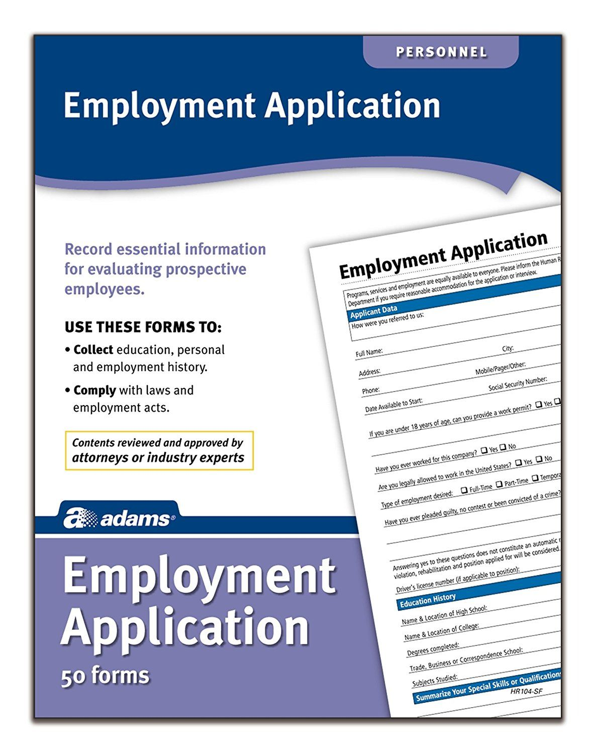Generic Job Application To Print Books Pdf  Education Books