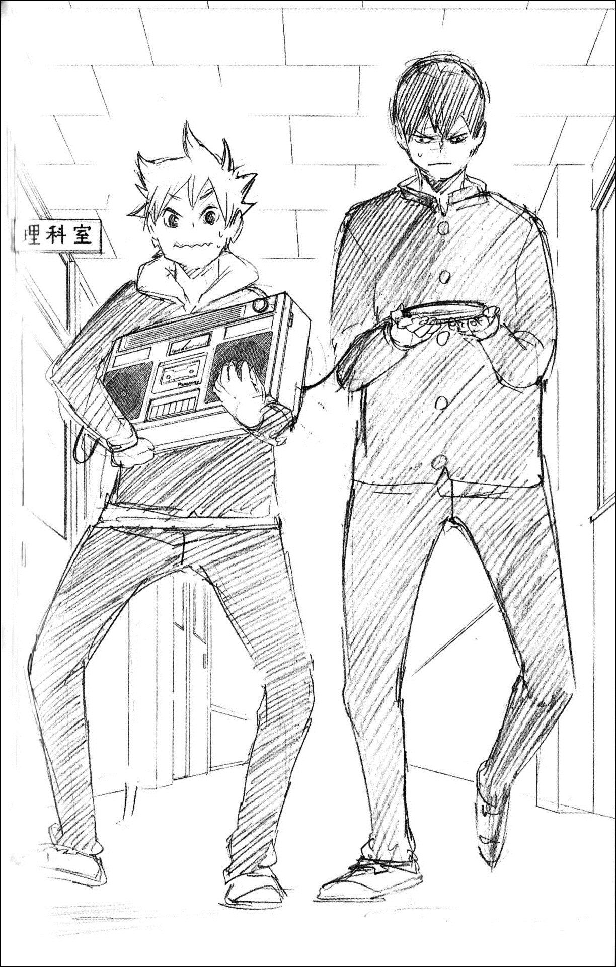 Haikyuu!! - Kageyama and Shouyou