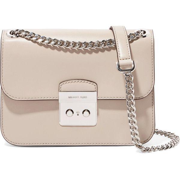 e5ada0f42354 MICHAEL Michael Kors Sloan Editor leather shoulder bag (575 BAM) ❤ liked on  Polyvore