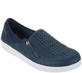 Designermode niedriger Preis dauerhafte Modellierung Skechers Perforated Slip On Shoes - Madison Ave Street Smart ...