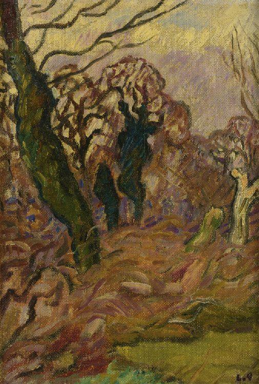 La Sologne, 1918, by Louis Valtat