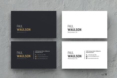 Business card business cards personal identity and photoshop clean business card by themedevisers on creativemarket colourmoves