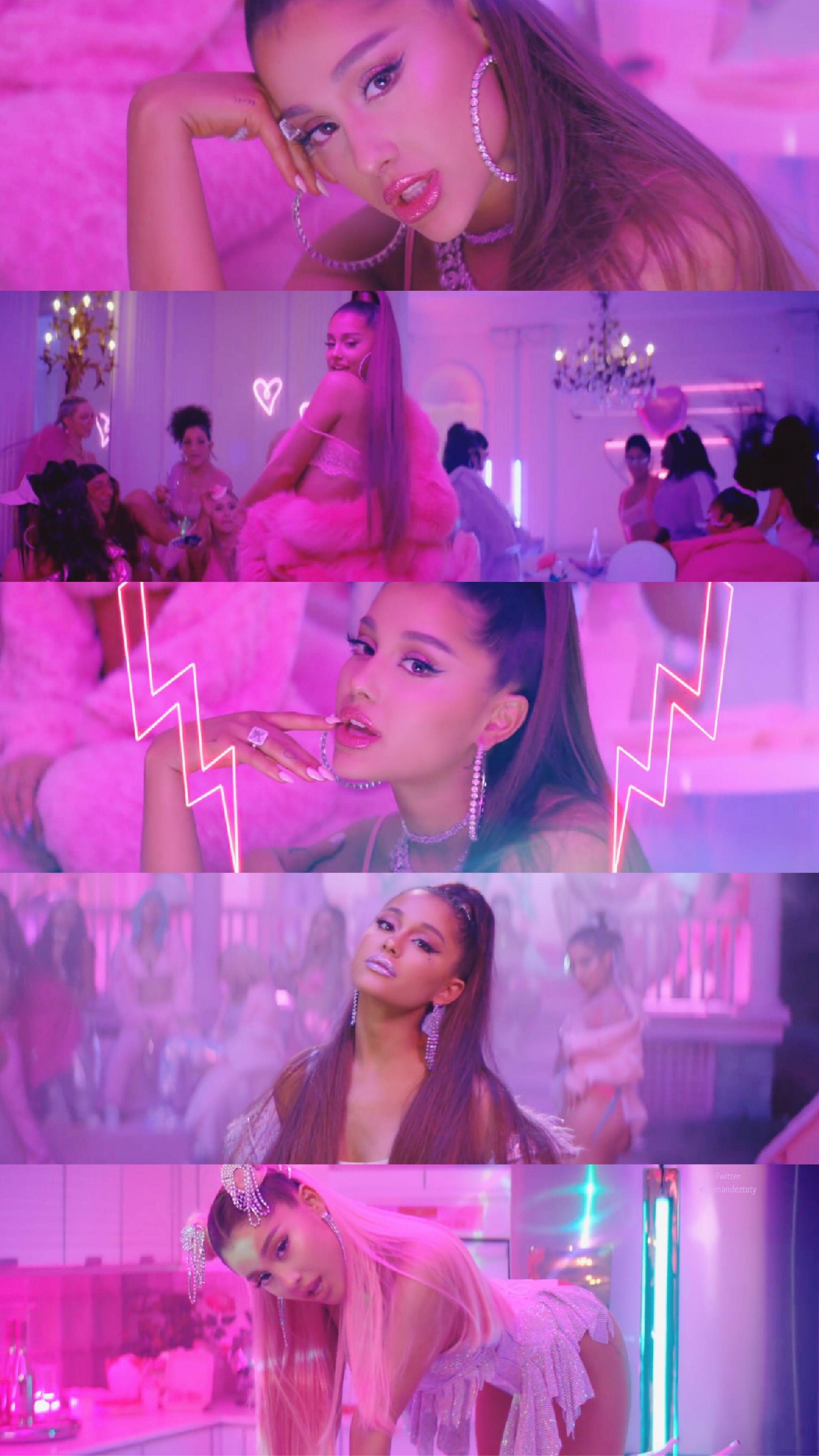 7 Rings Ariana Grande Wallpaper #arianagrande