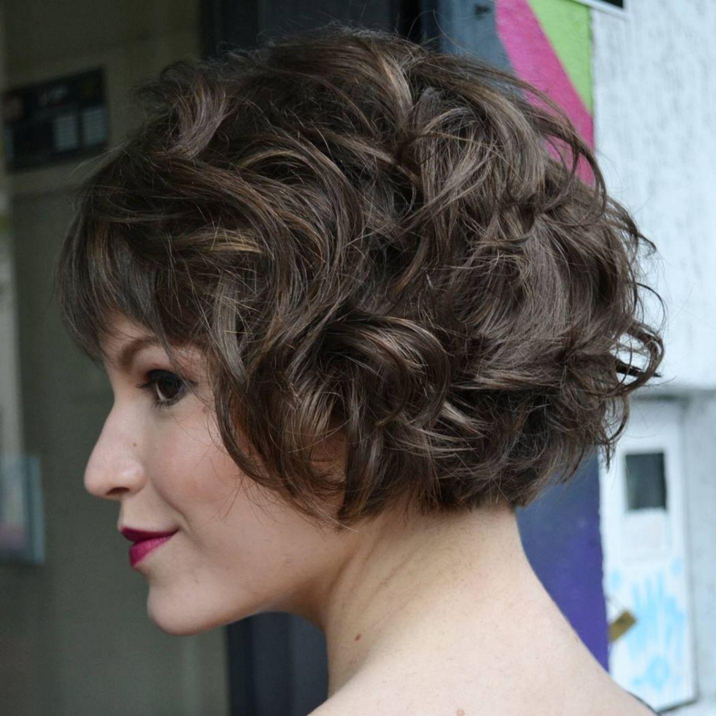 most delightful short wavy hairstyles hair pinterest short