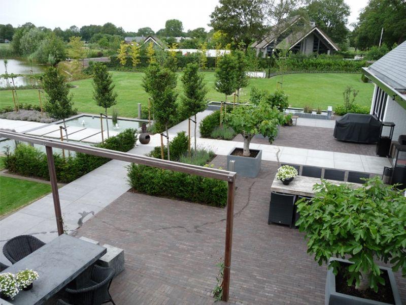 Klik op de afbeelding om deze weer te verbergen klik en beweeg met de muis om de afbeelding te - Te dekken moderne tuin ...