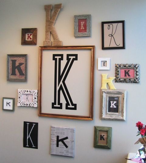 Cricut Home Da C Cor Letter Wall Project Letter Wall Decor Monogram Wall Letter Wall