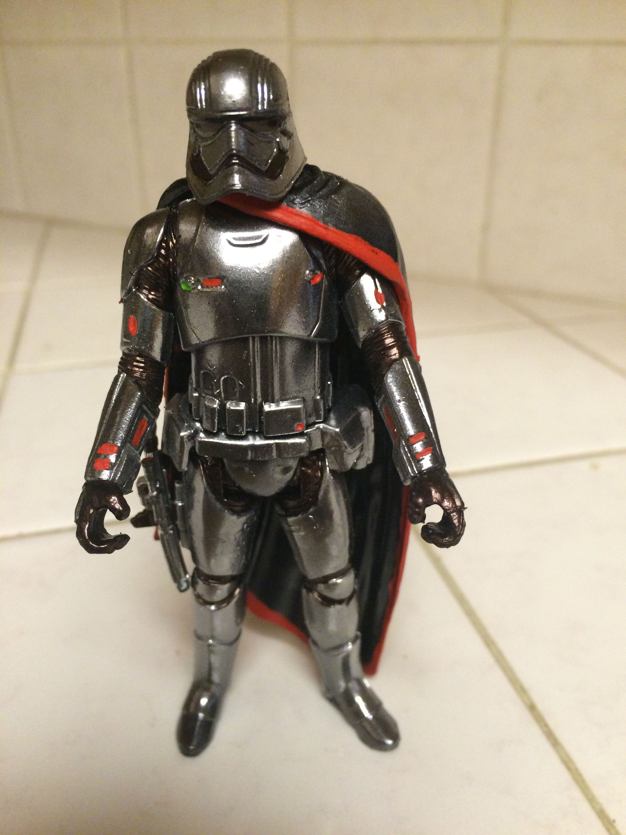 fec342d64824c9 My Latest Custom Captain Phasma from Star Wars the Force Awakens ...
