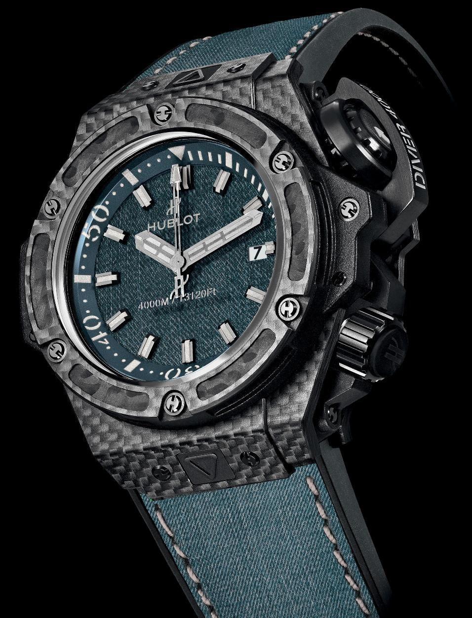 89433dbbcb2 ♂ Watch Hublot Oceanographic 4000 Jeans.