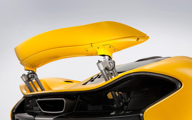McLarenP1rearwing hydraulics Mclaren p1, Super cars