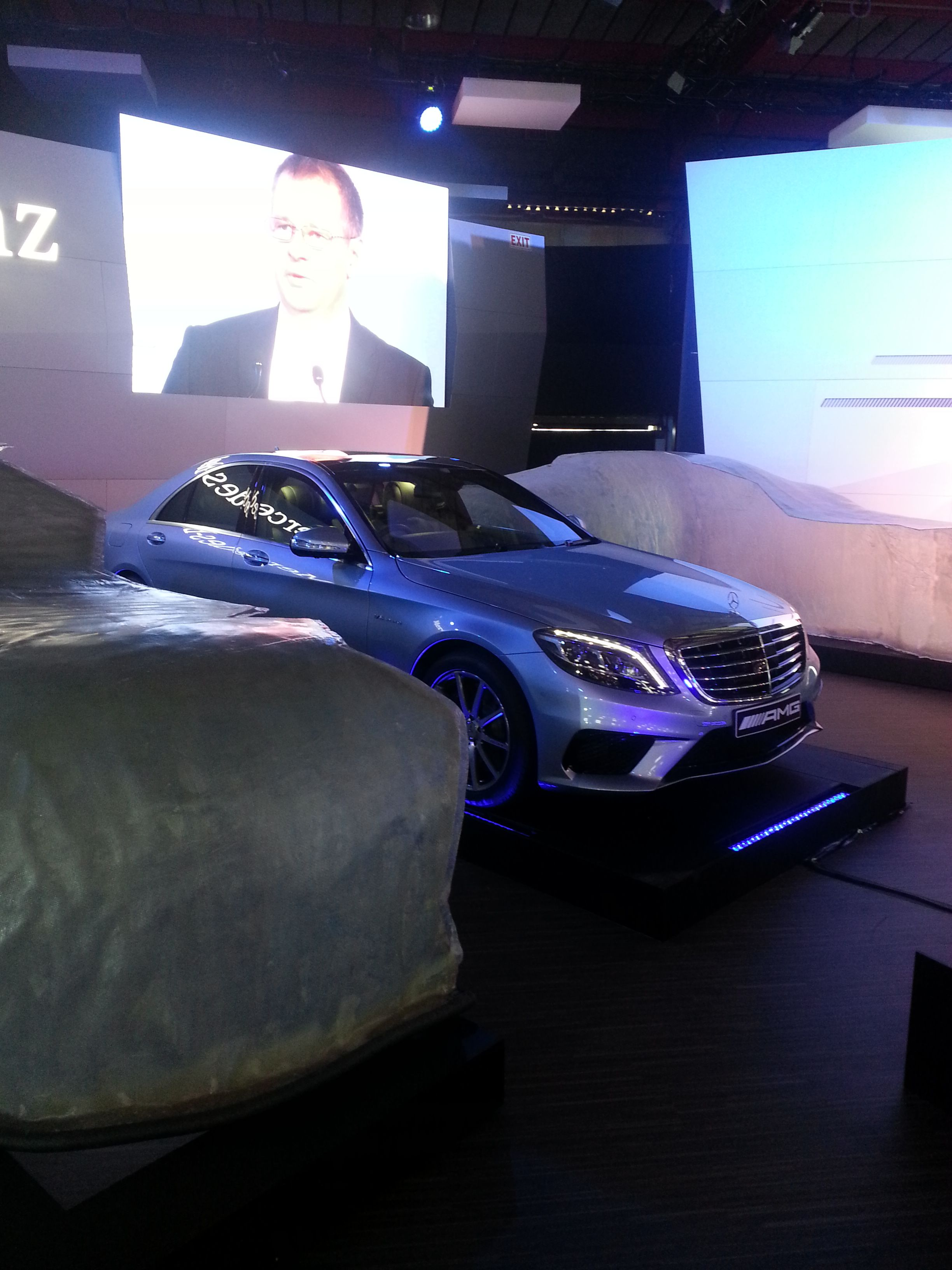Mercedes Benz at JIMS 2013