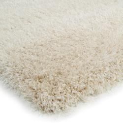 Photo of benuta Essentials Shaggy Rug Sophie Beige 200×200 cm – Long pile rug for living room