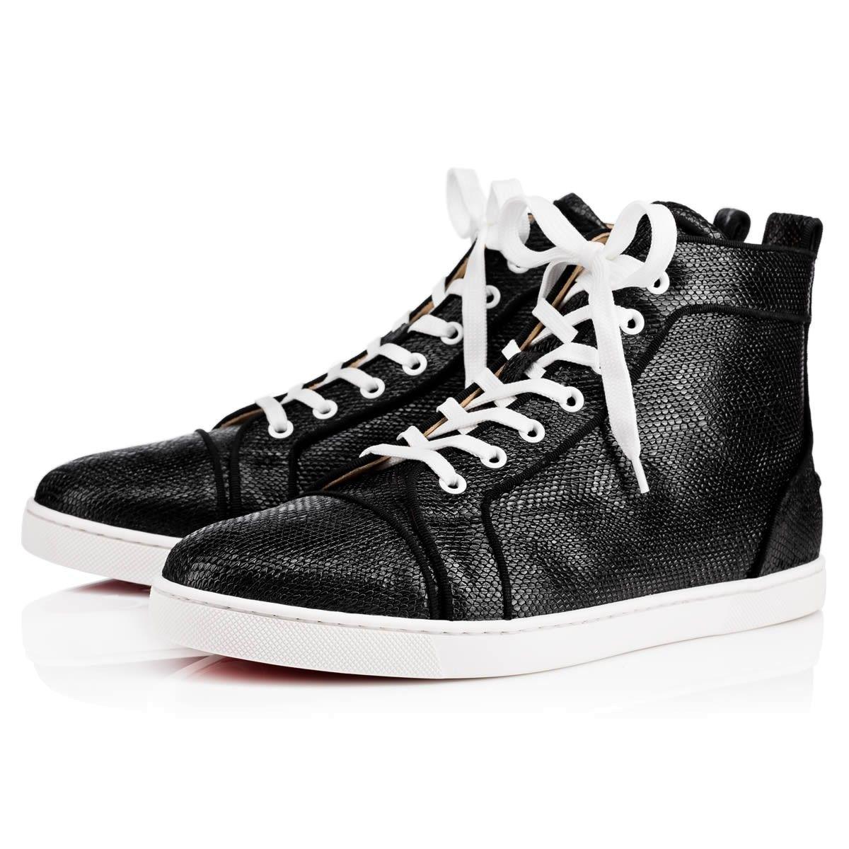 80a48a69f0f7 CHRISTIAN LOUBOUTIN Bip Bip Orlato Flat Black Leather - Men Shoes - Christian  Louboutin.  christianlouboutin  shoes