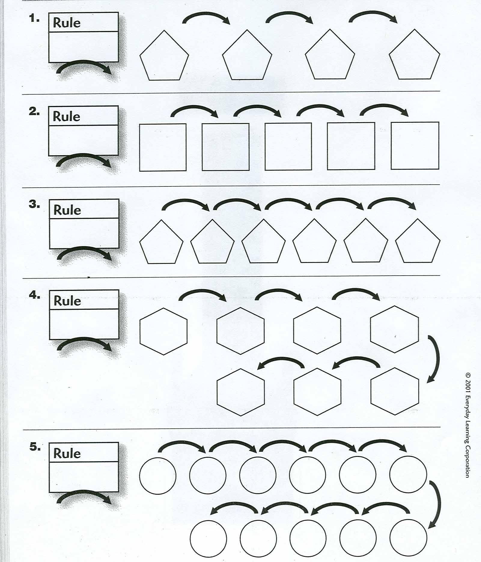 Predownload: Everyday Math Math Math Sheets [ 1872 x 1601 Pixel ]