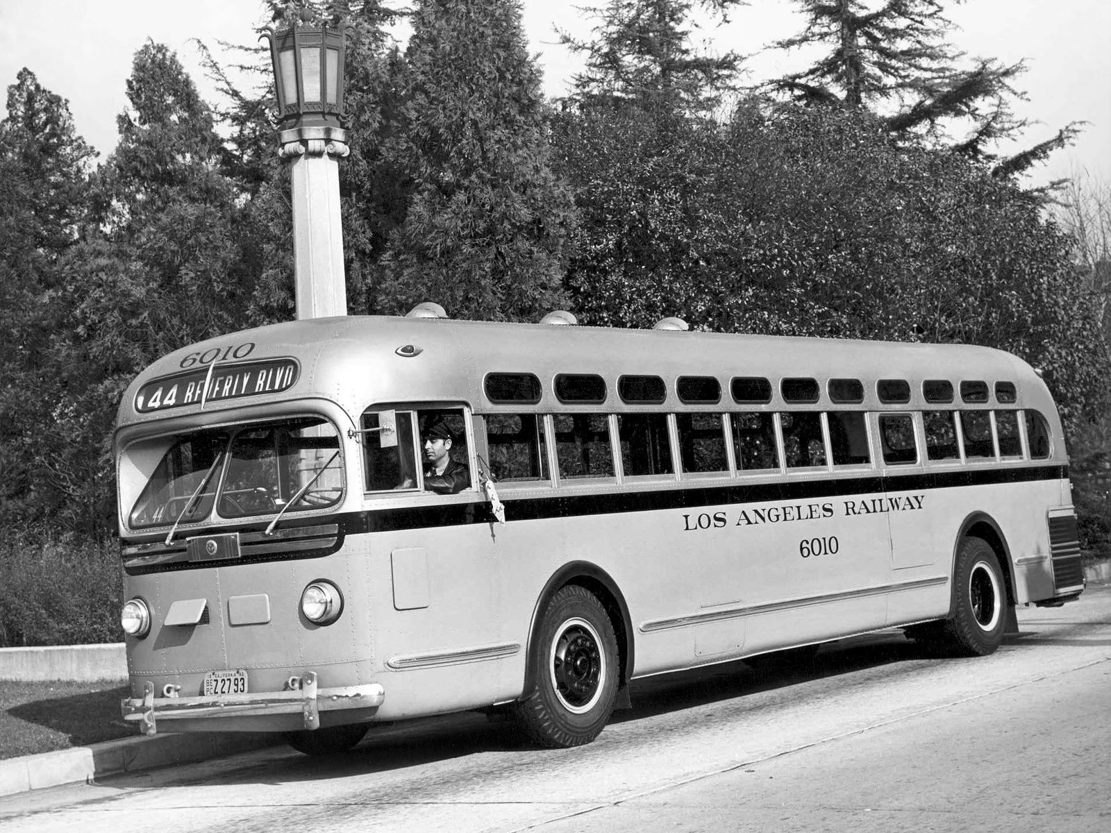 1946 Los Angeles Railways 6010 Bus Bus City Bus Coach