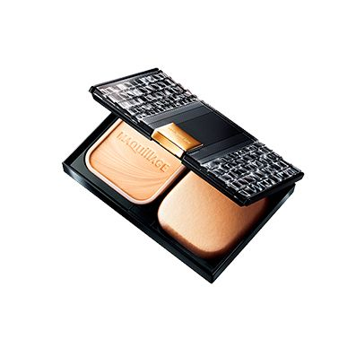 SHISEIDO MAQuillAGE Dramatic Powdery UV SPF 25 PA++ (Case + Refill) ~ with 10th Anniversary Limited Edition Compact Case - www.BonBonCosmetics.com