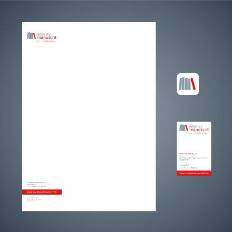 logo  papier ent u00eate  carte de visite  ic u00f4ne