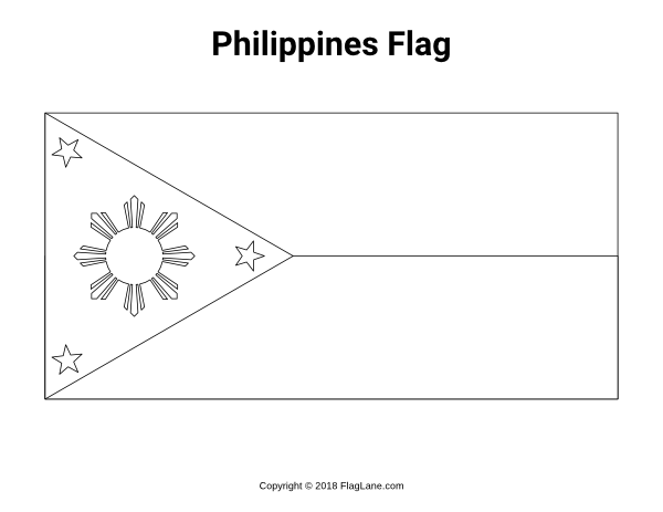 Free Printable Philippines Flag Coloring Page Download It At Https Flaglane Com Coloring Page Filipino Fla Philippine Flag Flag Coloring Pages Filipino Flag