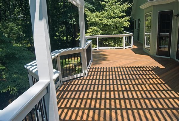 How to create shade on your deck - In the middle of the day, most of an arbors shade comes from the lath. Tightening the spacing provides more shade.