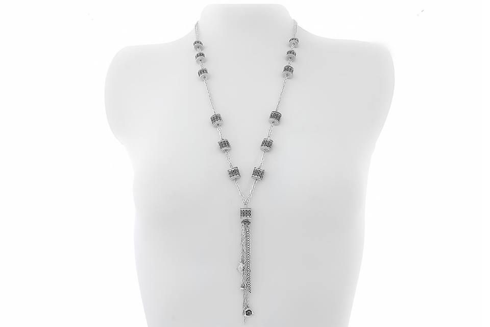 Check out Sterling Silver Marcasite Necklace: Code: MS04551 Price : 3525 LE  Sterling #Silver #Necklace